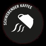 Schwebender Kaffee